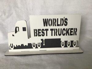 WORLDS BEST TRUCKER