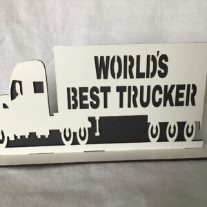 WORLDS BEST TRUCKER