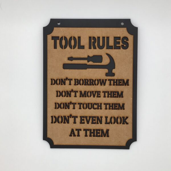 TOOL RULES