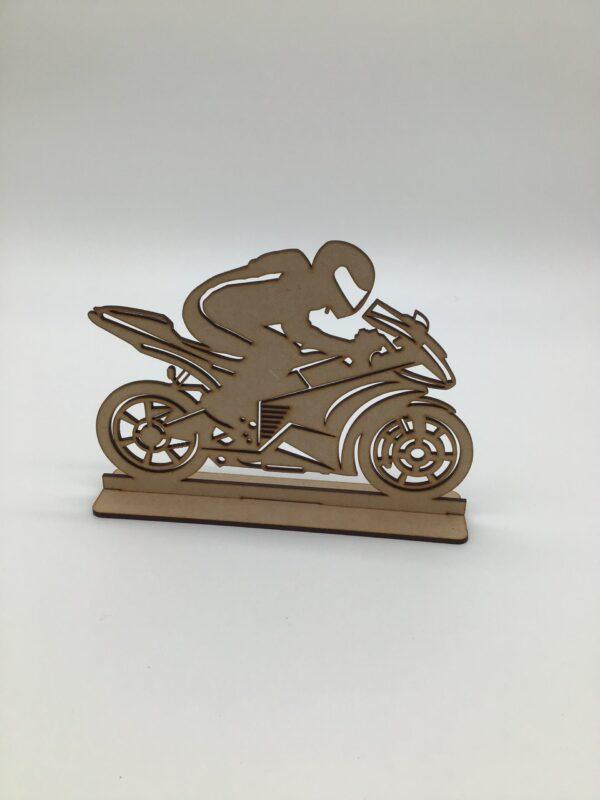 RACING MOTOR CYCLIST